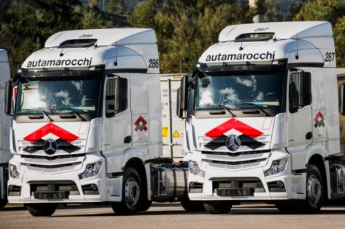 automarocchi flotta mercedes trucks