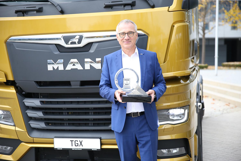 MAN TGX è International Truck of the Year 2021