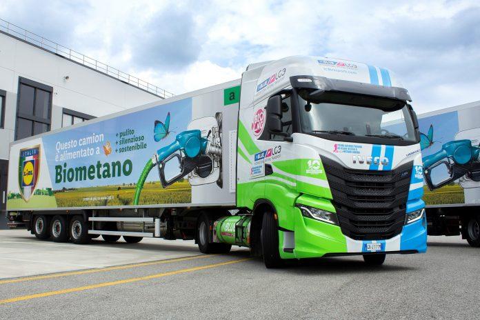 Iveco S-Way BIO-LNG biometano Lidl