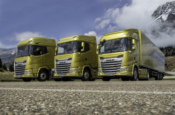 nuova generazione DAF trucks 2021