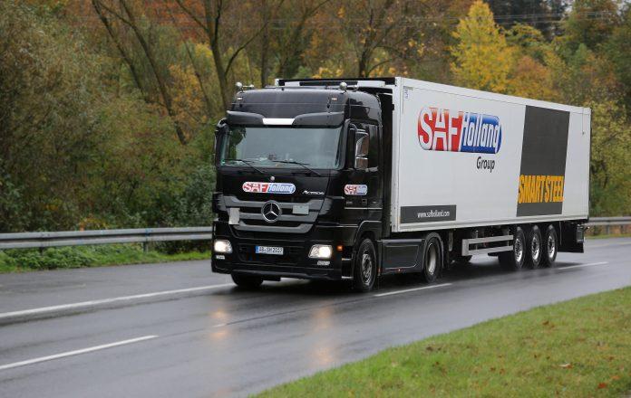 camion con assali elettrici SAF-HOLLAND